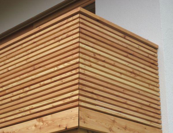 fassade balkon terrasse holzbau mitterer. Black Bedroom Furniture Sets. Home Design Ideas
